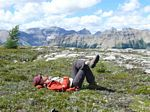 Cdn Rockies Adventure (Aug 2010) - Talus - 112